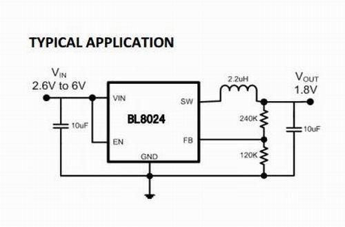 bl8024 典型应用电路图