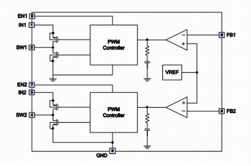 上海贝岭BL9328B典型应用电路图