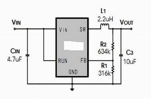 上海贝岭BL8025典型应用电路图