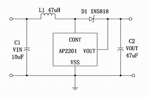 ap2201型号典型应用电路图