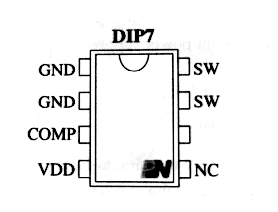 pn8024r典型应用电路图