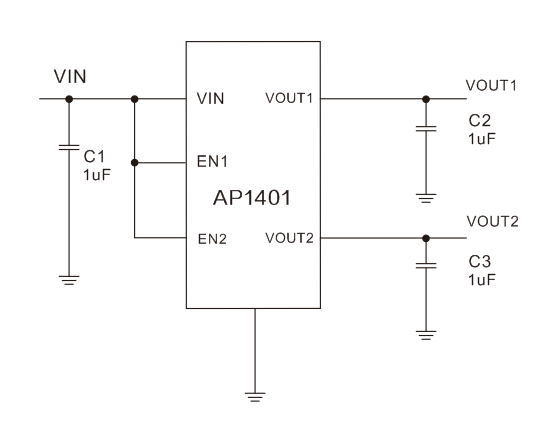 ap1401典型应用电路图