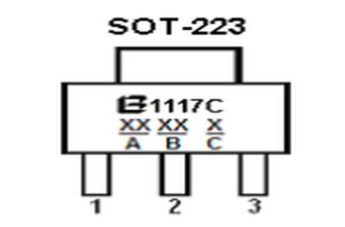 bl1117典型应用电路图