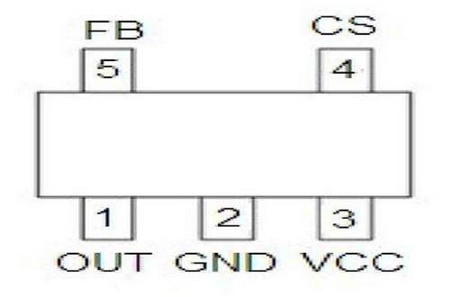 贝岭BL8555引脚图/引脚功能