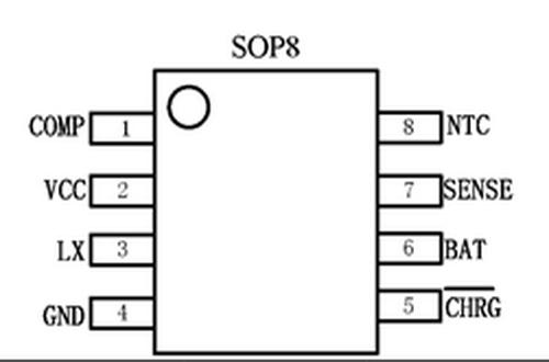 芯朋微ap5302引脚图/引脚功能