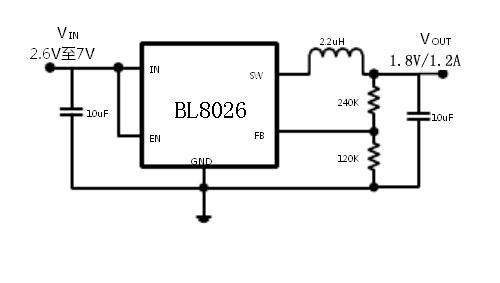 BL8026典型应用电路图
