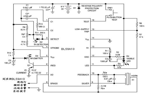 上海贝岭bl5910典型应用电路图