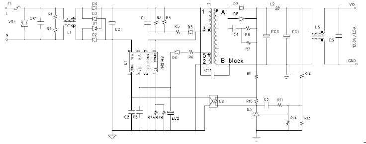 芯朋微PN8149电路图