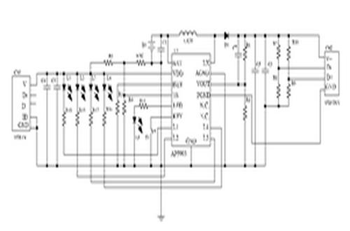 芯朋微ap5903型号典型应用电路图
