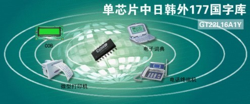 高通GT22L16A1Y字库芯片