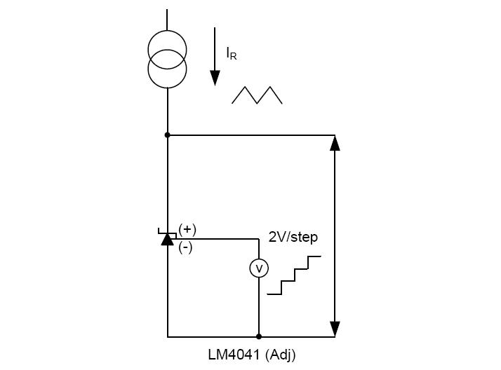 台湾友顺LM4041典型应用电路图