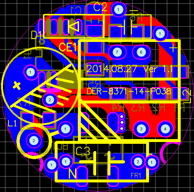 PN8371印制电路板