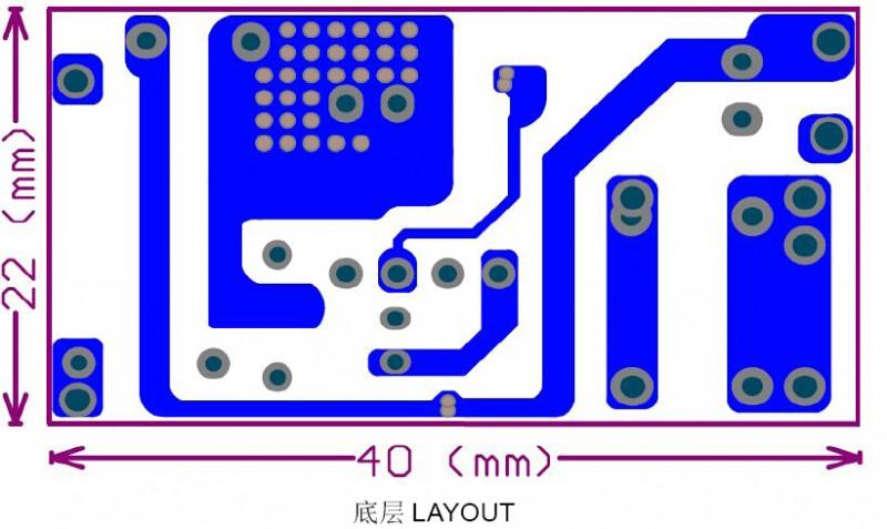 PN8315 印制电路板