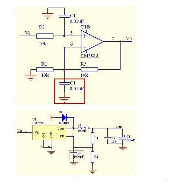 运算放大器电路反馈