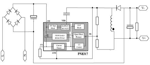 pn8317典型应用电路图