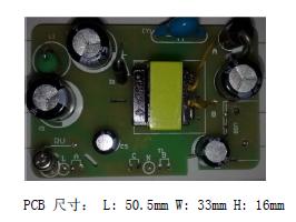 ME8311应用方案PCB板尺寸图