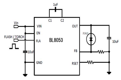 上海贝岭bl8053典型应用电路图