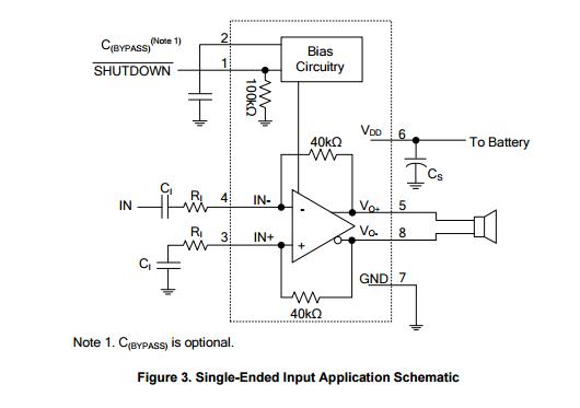 UTC品牌PA6204典型应用电路图