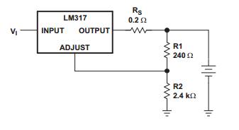 LM317典型应用电路图