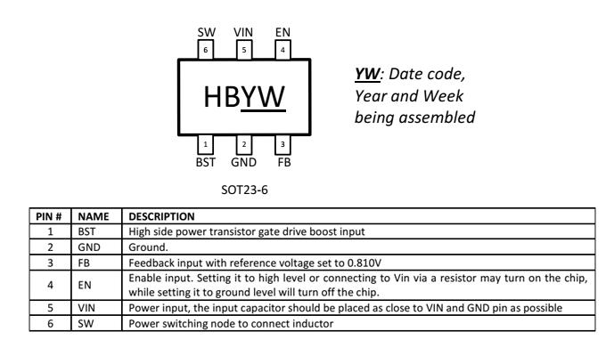 BL8095引脚图/引脚功能