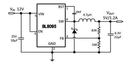 BL8095典型应用电路图