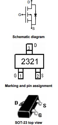 NCE2321引脚图/引脚功能