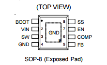 RT8295引脚图引脚功能