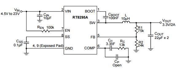 RT8295典型应用电路图