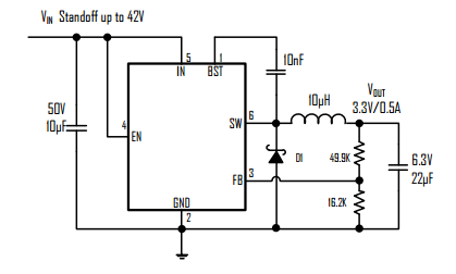 BL9641典型应用电路图