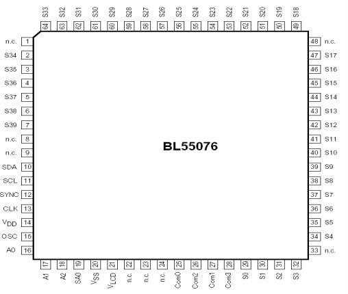 BL55076引脚图引脚功能
