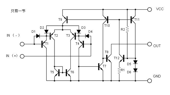 UTC LM339典型电路原理图