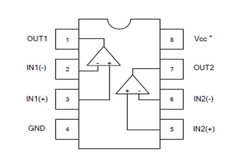 UTC台湾友顺M2904引脚图/引脚功能