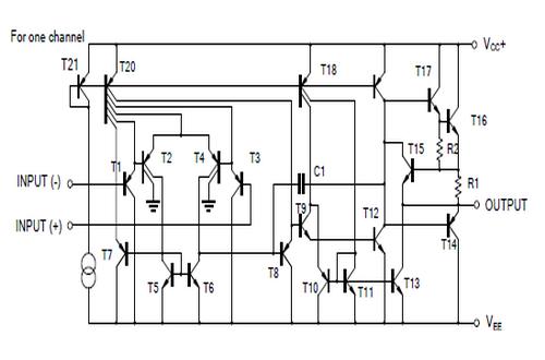 台湾友顺LM358典型应用电路图