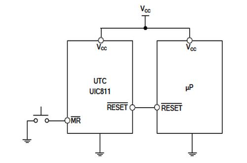 该utc uic811系列复位电路,从而可以监测尤其是在微处理器电源基础