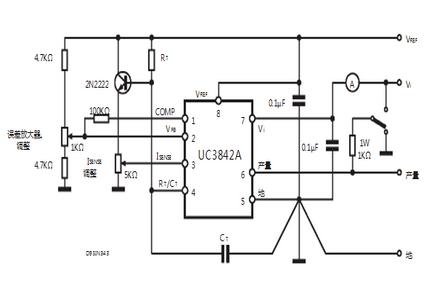 意法半导体uc3842b应用电路图