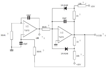 意法半导体tl062应用电路图
