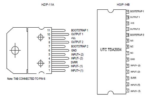 电路 03 国产电子元器件tda2004