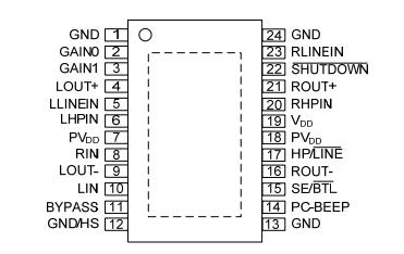 pa3312典型应用电路图