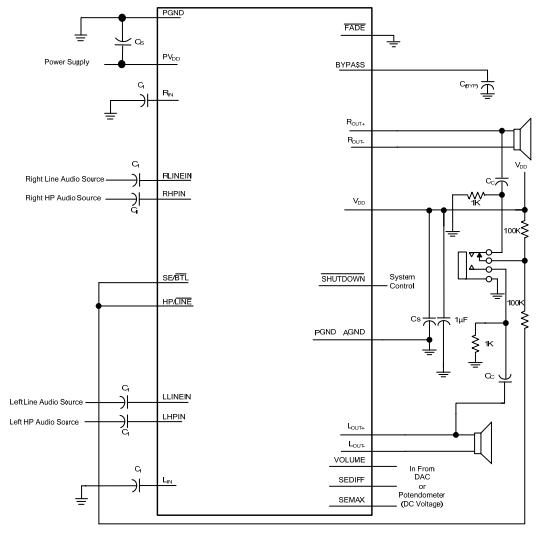 utc台湾友顺pa3011典型应用电路图