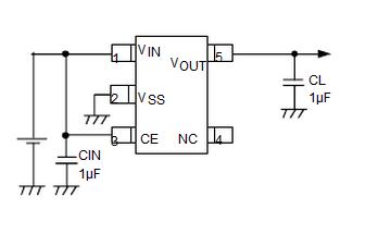 特瑞仕XC6209引脚图/引脚功能