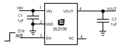 贝岭BL9198典型应用电路图