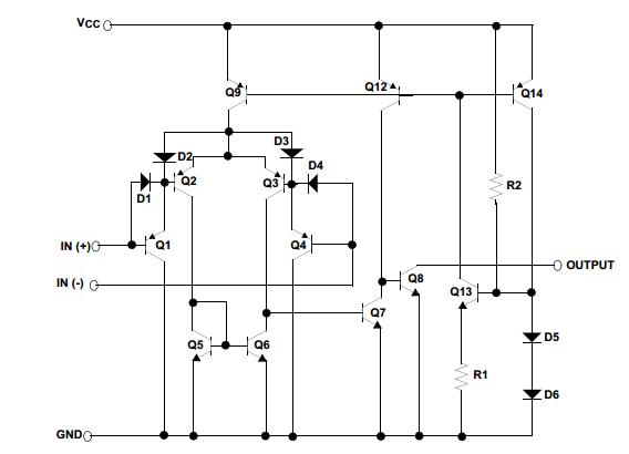 飞兆半导体lm393典型应用电路图
