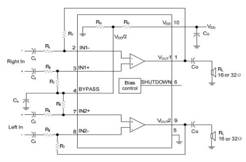 utc pa3112典型应用电路图